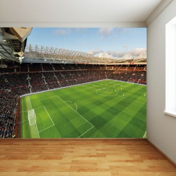 Manchester United Old Trafford Stadium Full Wall Mural Panoramic VIew