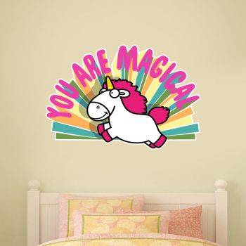 Despicable Me You Are Magical Unicorn Wall Sticker