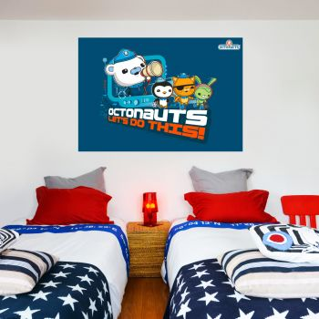 Octonauts Lets Do This Wall Sticker