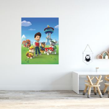 Paw Patrol Group Poster Wall Sticker