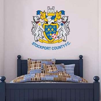 Stockport County Official Crest Wall Sticker