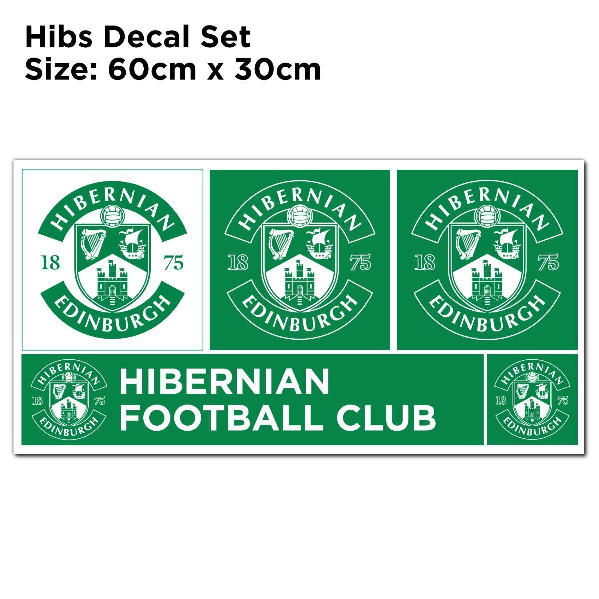 Hibernian F.C. Easter Road Stadium Wall Sticker - Outside Day Time