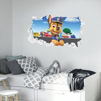 Official Paw Patrol Wall Stickers Wall Art Themed Wall Art